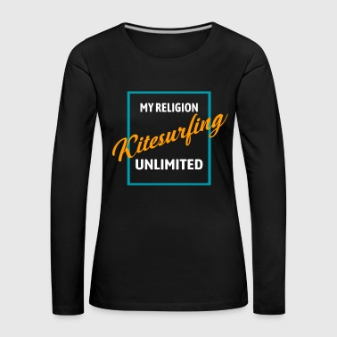 Religion Kitesufen religion sports - Women's Premium Longsleeve Shirt