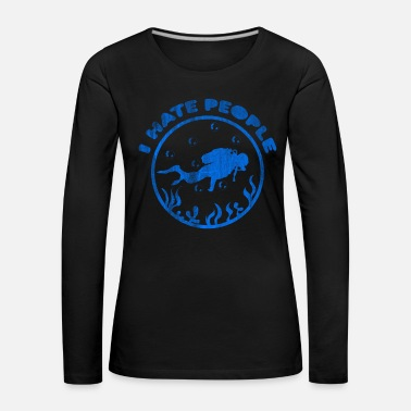 Sports Diving underwater world - Women's Premium Longsleeve Shirt