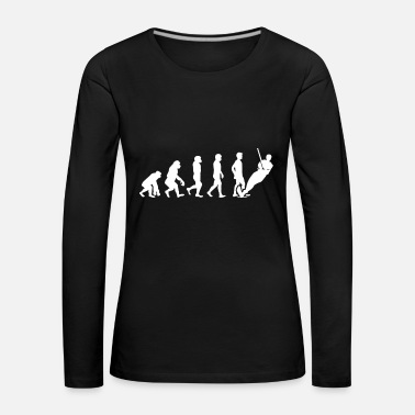 Water Sports Water skiing evolution - Women's Premium Longsleeve Shirt