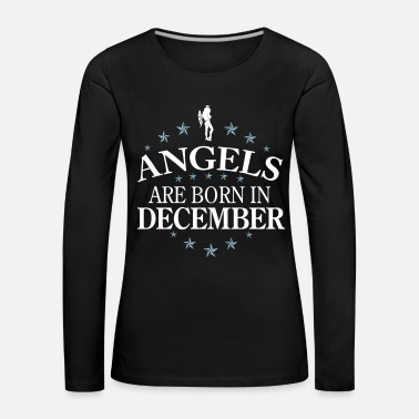Angel Angels December - Frauen Premium Langarmshirt