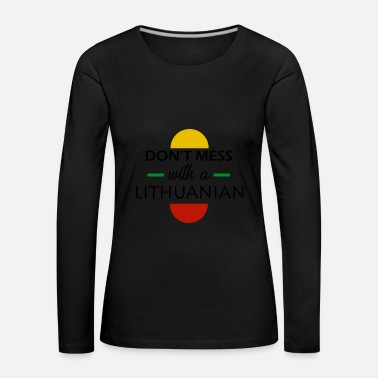 Lithuania Lithuania - Women's Premium Longsleeve Shirt