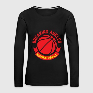 Basketbal Team Basketbal Sport Team Team Tuner Training - Vrouwen Premium shirt met lange mouwen