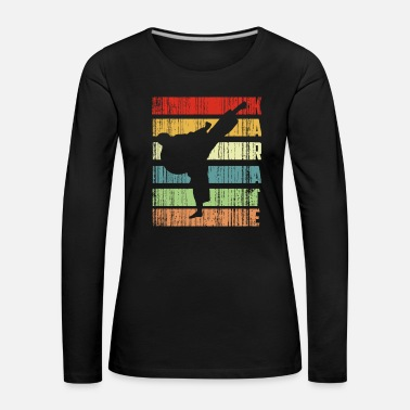 Samurai karate colors - Women's Premium Longsleeve Shirt