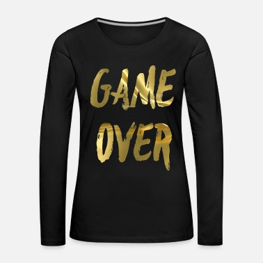 Game Over GAME OVER - T-shirt manches longues Premium Femme