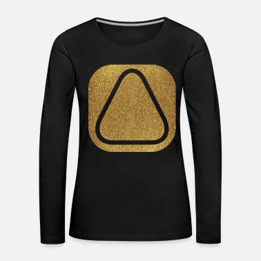 Triangle SQUARES VIERECKE ANIME 11 - T-shirt manches longues Premium Femme