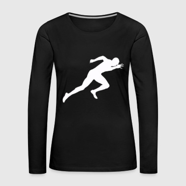 Sprinting Sprint Athletics - Women's Premium Longsleeve Shirt