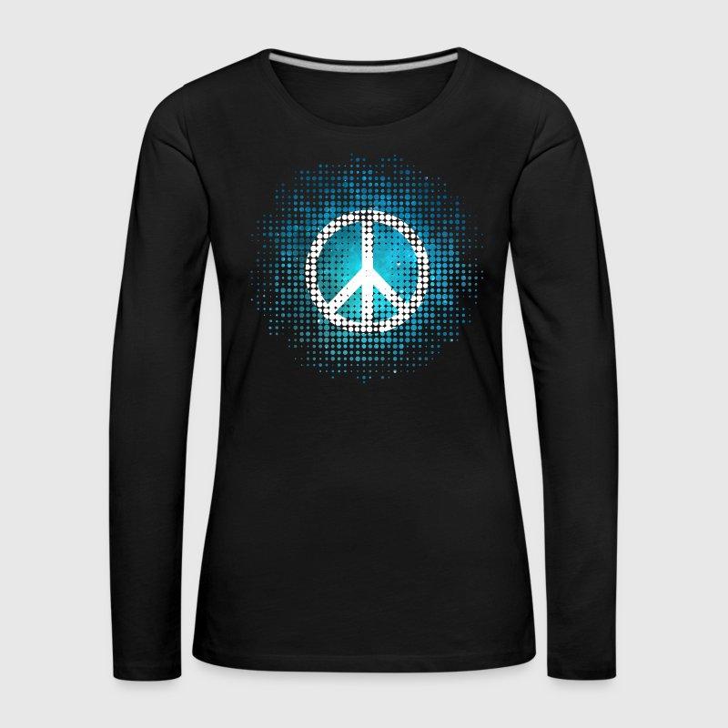 Peace Symbol Love Harmony Freedom Dots Summer Van Yuma Spreadshirt