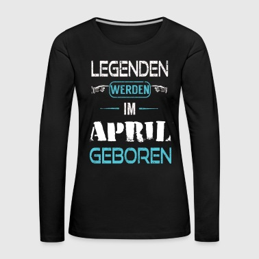 April - Frauen Premium Langarmshirt