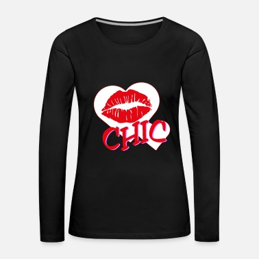 Lips Chic - Women's Premium Longsleeve Shirt