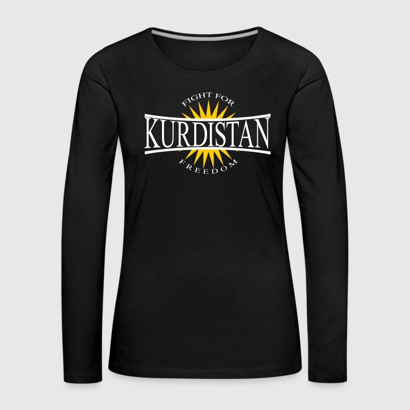 Kurdistan Fight for Freedom - Kurdistan Wear - Frauen Premium Langarmshirt