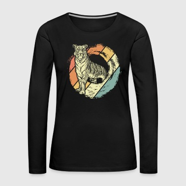 Animal rights activist Tiger - Women's Premium Longsleeve Shirt