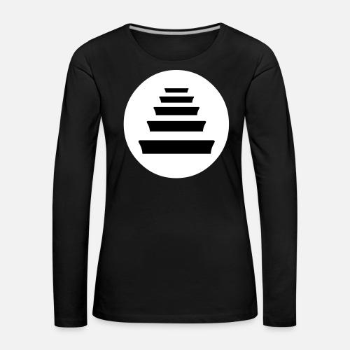 Quinto Escalon Hip Hop - Camiseta de manga larga premium mujer. delante 24435a1b7d0