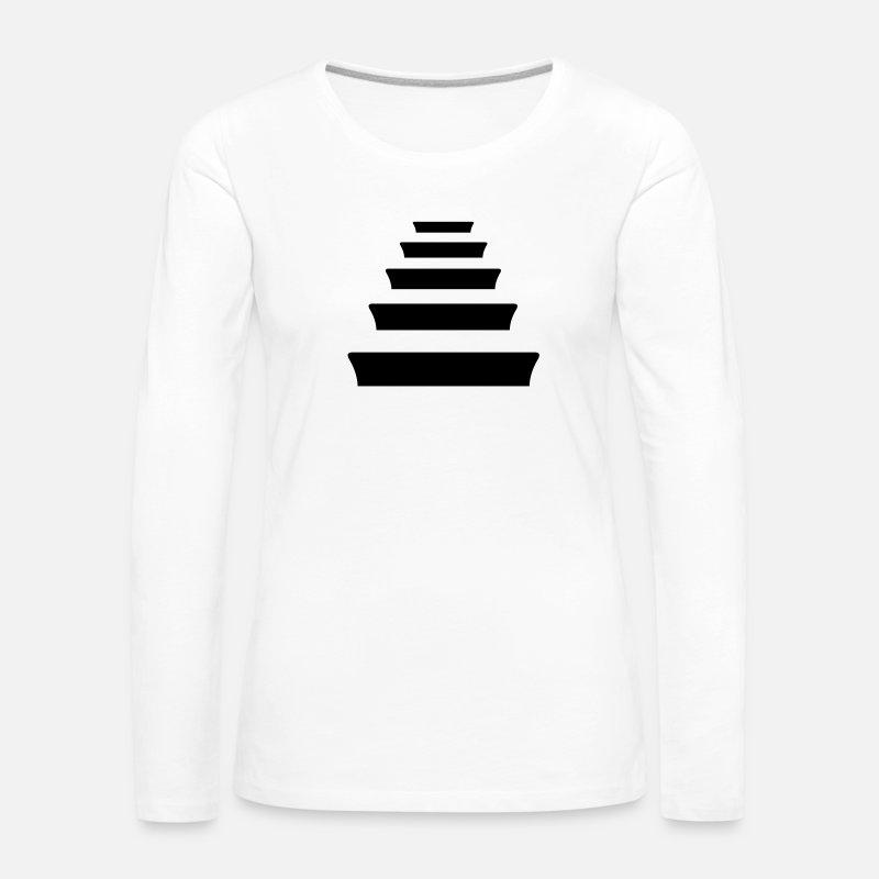 Quinto Escalon Hip Hop Camiseta de manga larga premium mujer ... 32451f9e914