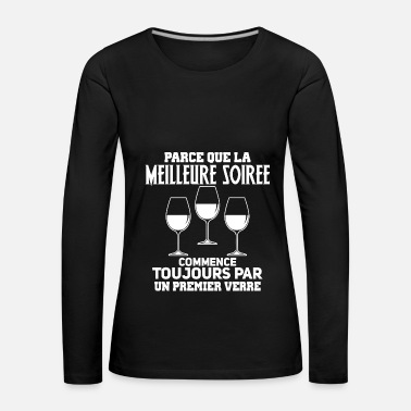 Evening The best evening - Women's Premium Longsleeve Shirt