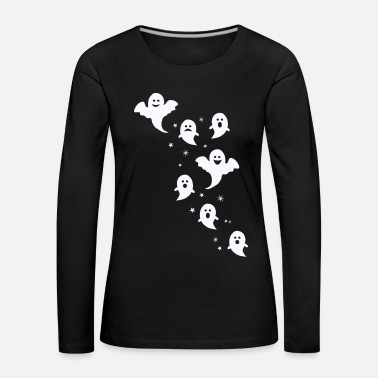 Ghost Ghosts Ghosts Ghost Hour Scary Gift - Women's Premium Longsleeve Shirt