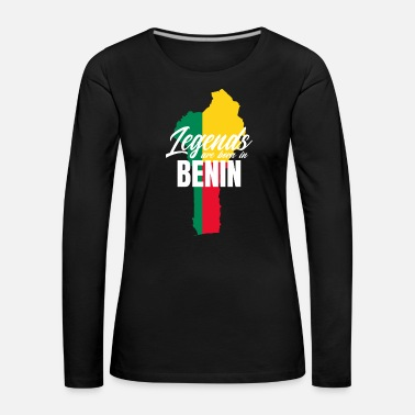 Brother Legends are Born in Benin Land - Women's Premium Longsleeve Shirt