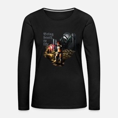 Heavy Metal Bring death to life - Camiseta de manga larga premium mujer