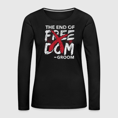 The end of the freedom groom wedding - Women's Premium Longsleeve Shirt