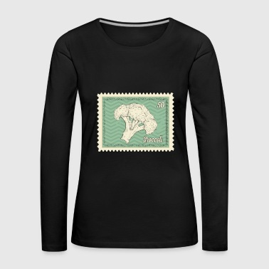 Stamp Broccoli stamps - Women's Premium Longsleeve Shirt
