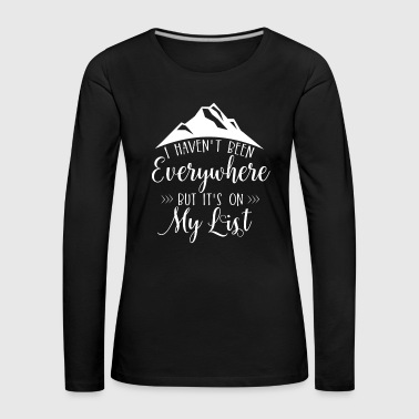 Berge Mountains - Frauen Premium Langarmshirt