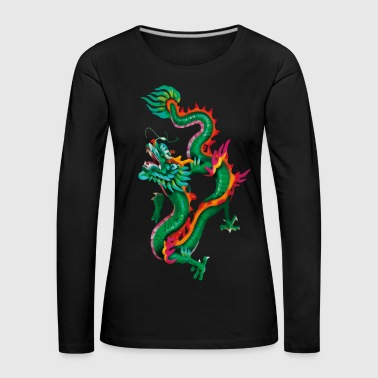 Magic Dragon - Women's Premium Longsleeve Shirt