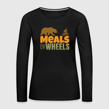 Meal meals on wheels - Women's Premium Longsleeve Shirt