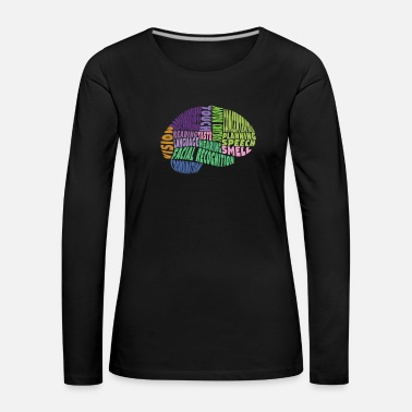 Region The regions of the brain - Women's Premium Longsleeve Shirt