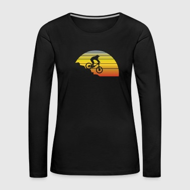 Vintage mountain bike shirt - Women's Premium Longsleeve Shirt