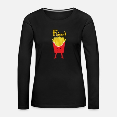 Best Friends BEST FRIEND BEST FRIENDS - Women's Premium Longsleeve Shirt