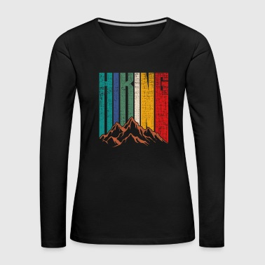 Hiking hiking gift mountains mountains - Women's Premium Longsleeve Shirt