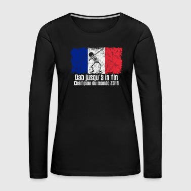 Dabbing France Football 2018 - Women's Premium Longsleeve Shirt