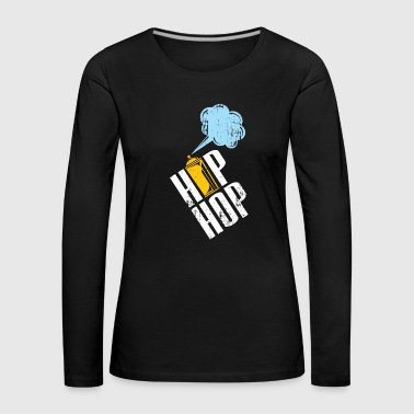 Hiphop spray can gift kids Christmas - Women's Premium Longsleeve Shirt