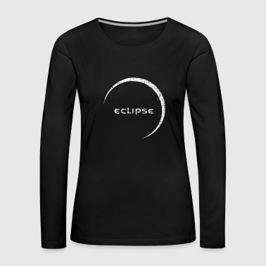 Eclipse moon eclipse sun gift - Women's Premium Longsleeve Shirt