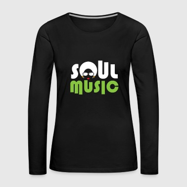 Soul Music Queen Choir Christmas - Premium langermet T-skjorte for kvinner