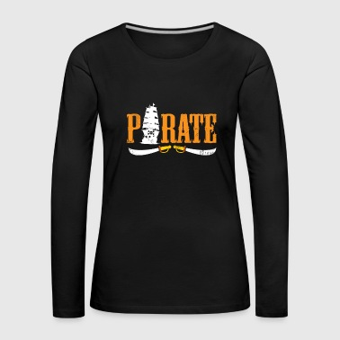Pirate Gift Kids Christmas Birthday - Women's Premium Longsleeve Shirt