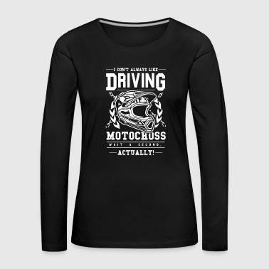 Motocross Shirt · Enduro Sport · but! - Women's Premium Longsleeve Shirt