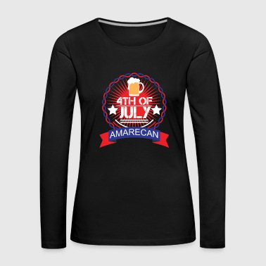 Patriot Memorial Day - Memorial Day - Långärmad premium-T-shirt dam