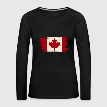 Vacation Canada vintage retro gift kids - Women's Premium Longsleeve Shirt