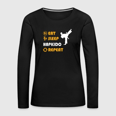 Aikido Hapkido - present for men and women - Women's Premium Longsleeve Shirt