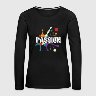 Painting Passion color drops gift children - Women's Premium Longsleeve Shirt