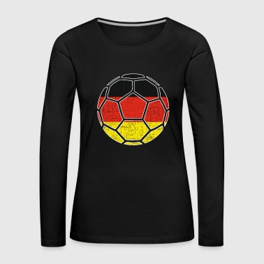 North Sea Soccer Germany flag gift - Women's Premium Longsleeve Shirt