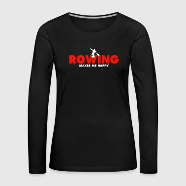 Tea Rowing tea - Women's Premium Longsleeve Shirt