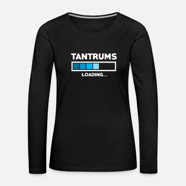 Pc Tantrums loading - Women's Premium Longsleeve Shirt