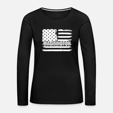 Fängelse Washington Correctional Officers Gift for - Långärmad premium-T-shirt dam