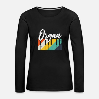 Trade Fair Organ gift instrument fair pastor - Women's Premium Longsleeve Shirt