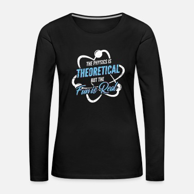 Atom Theoretical physics - Women's Premium Longsleeve Shirt