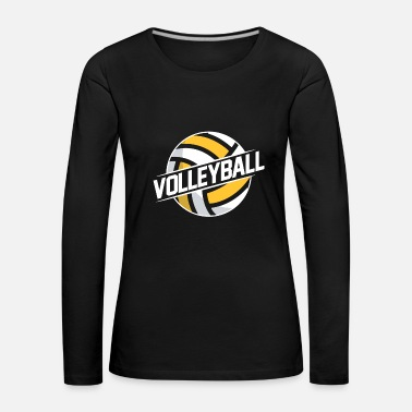 Beach Volley Volley-ball de beach volley - T-shirt manches longues Premium Femme
