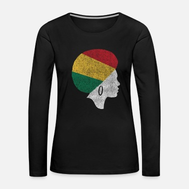 Anti Black History Month Gift Pride Chill - Women's Premium Longsleeve Shirt