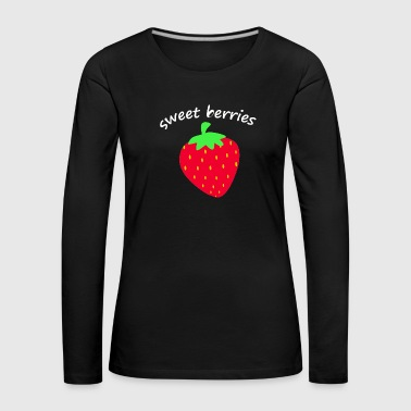 Fruit strawberry fruit fruit fruits - Women's Premium Longsleeve Shirt