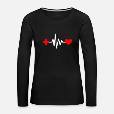Large Nurse T-shirt & Gift - Women's Premium Longsleeve Shirt